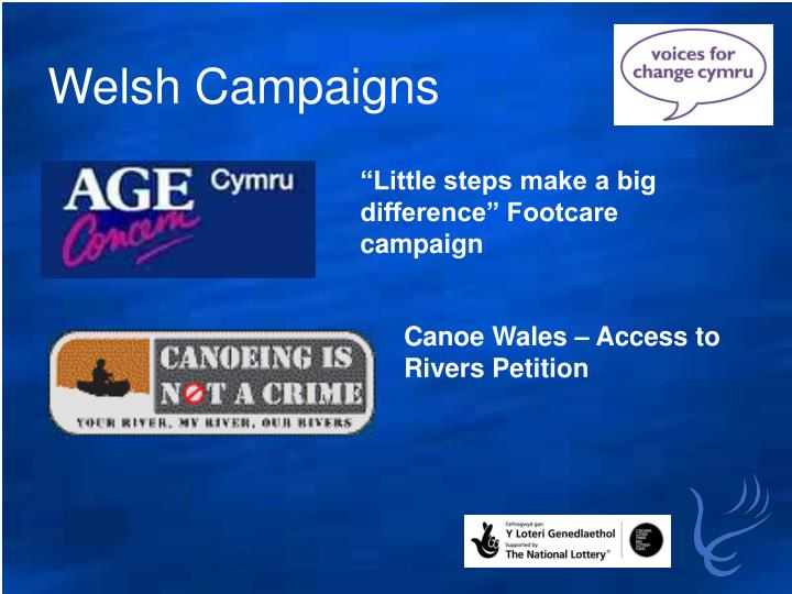 Welsh Campaigns