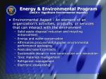 energy environmental program deca s significant environmental aspects
