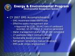 energy environmental program environmental management system1