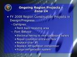 ongoing region projects zone 24