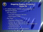 ongoing region projects zone 241