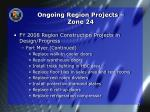 ongoing region projects zone 242