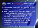 what is total facility maintenance