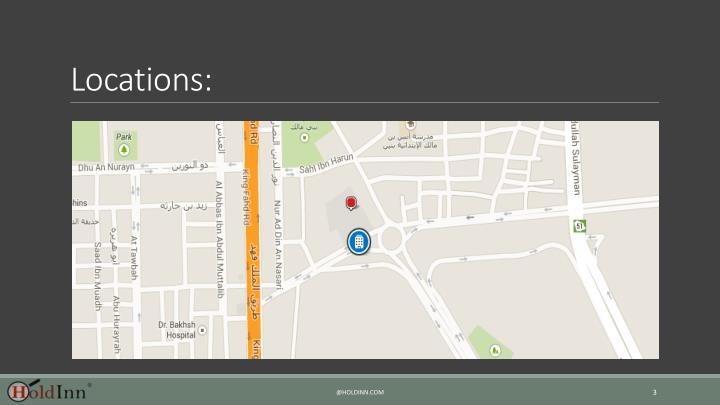 Locations: