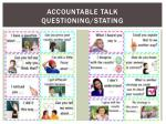 accountable talk questioning stating