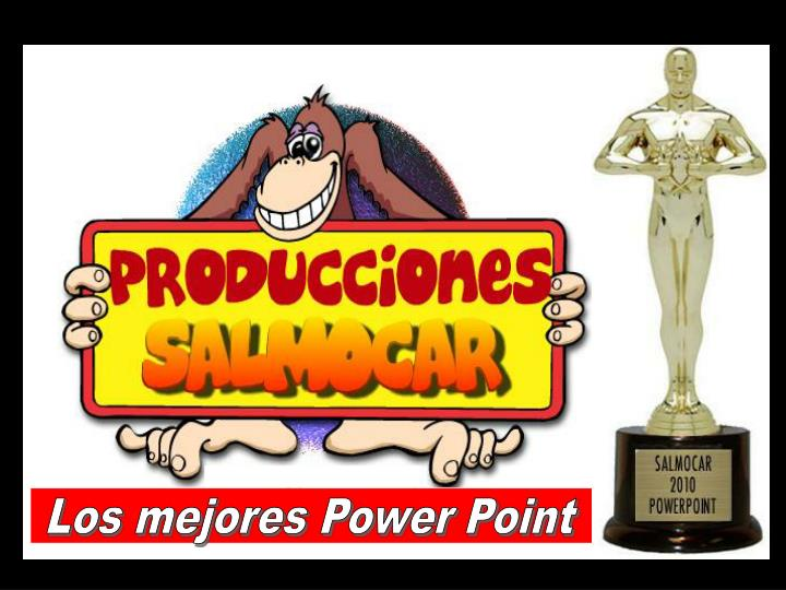 Los mejores Power Point