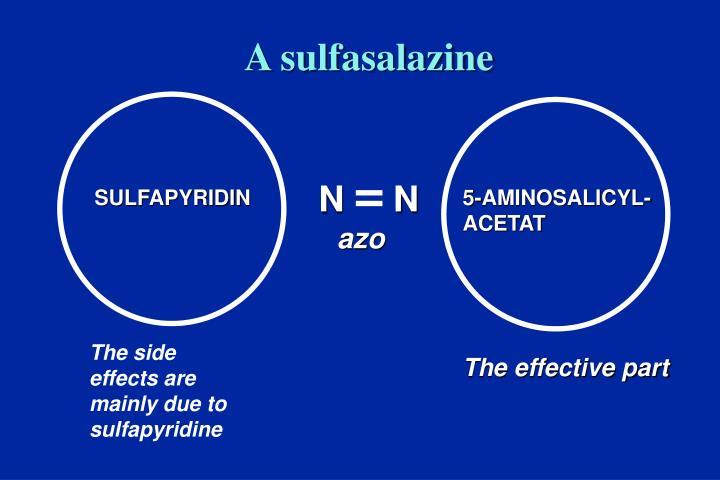 A sulfasalazine