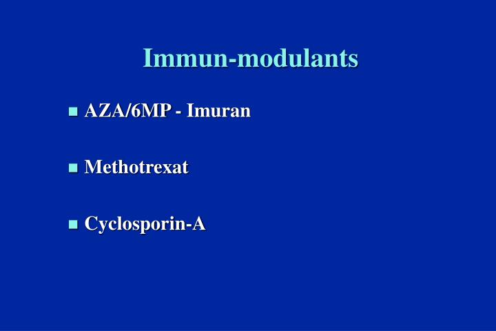 Immun-modulants