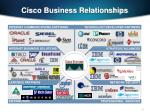 cisco business relationships