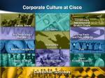 corporate culture at cisco