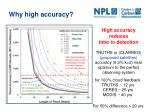 why high accuracy