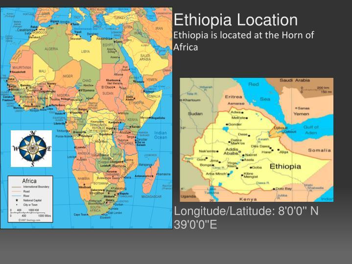 Ethiopia Location