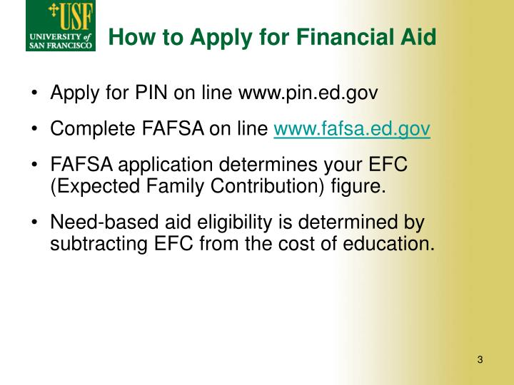 How to Apply for Financial Aid