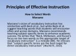 principles of effective instruction6