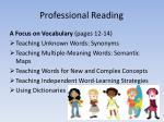 professional reading4