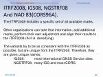itrf2008 igs08 ngstrf08 and nad 83 cors96a2