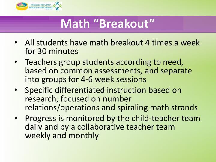 """Math """"Breakout"""""""