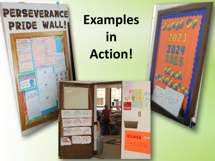 Examples in Action!