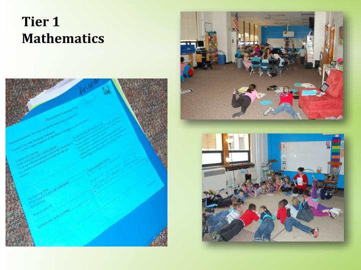 Tier 1 Mathematics