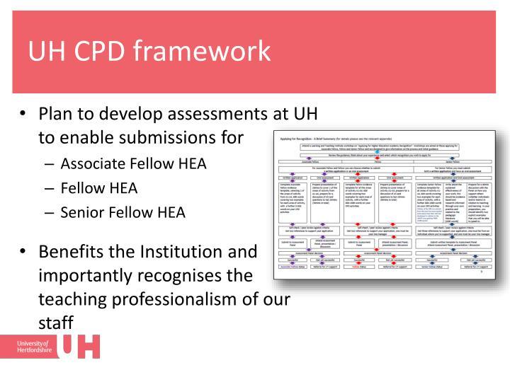 UH CPD framework