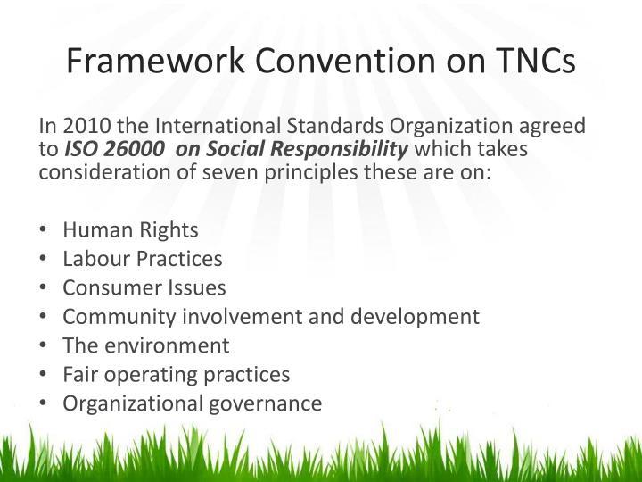 Framework Convention on TNCs