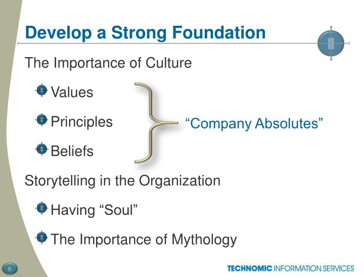 Develop a Strong Foundation