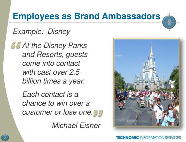 Employees as Brand Ambassadors