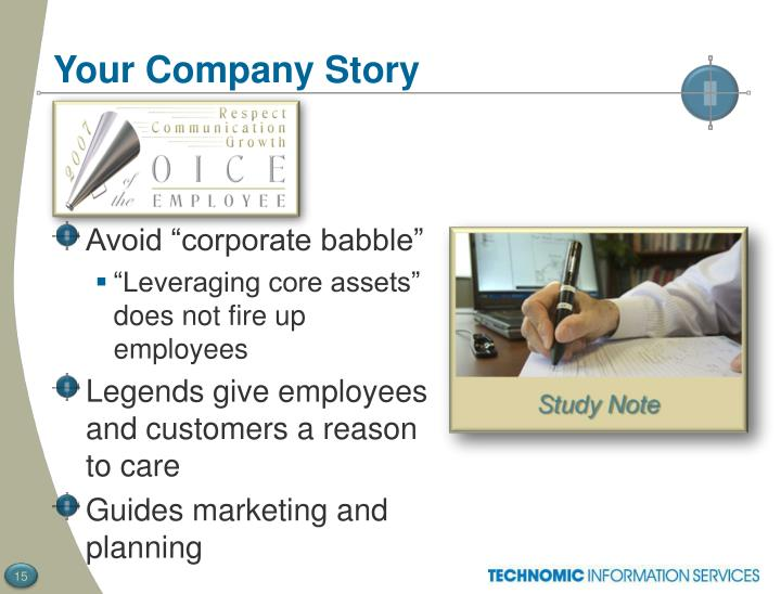 Your Company Story