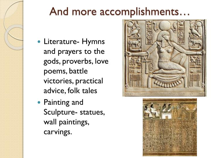 And more accomplishments…