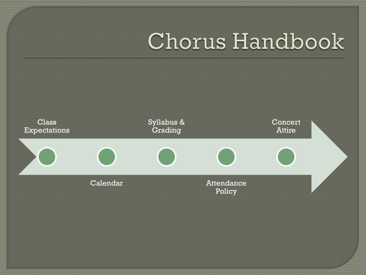 Chorus Handbook