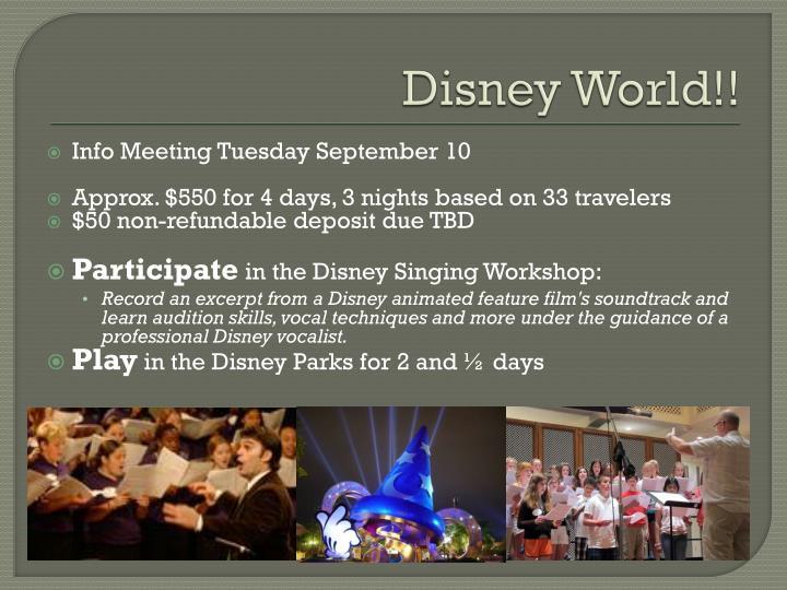 Disney World!!