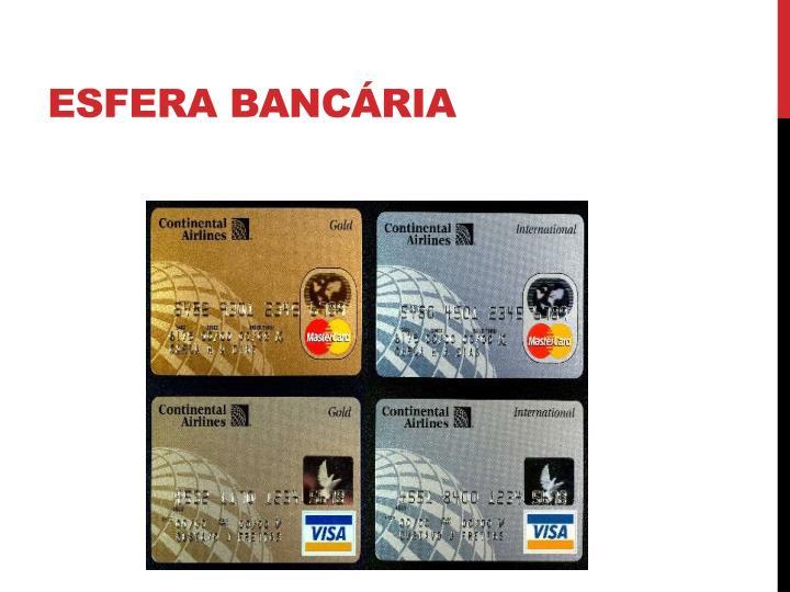 Esfera bancária