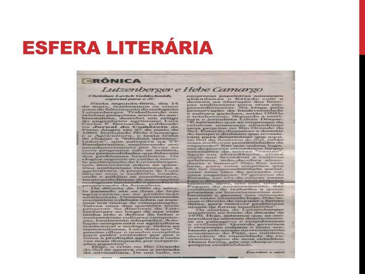 Esfera literária