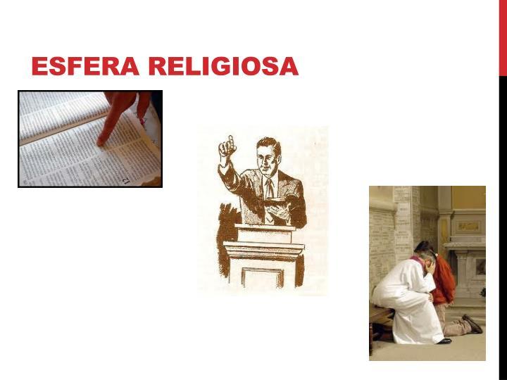 Esfera religiosa