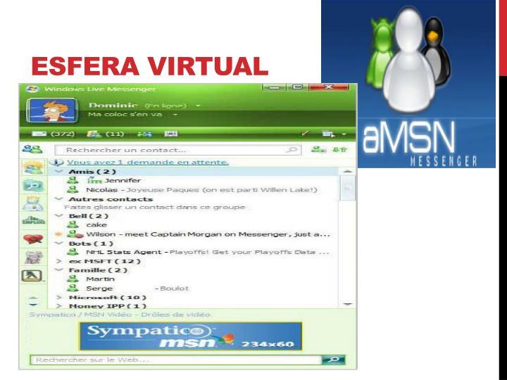Esfera virtual
