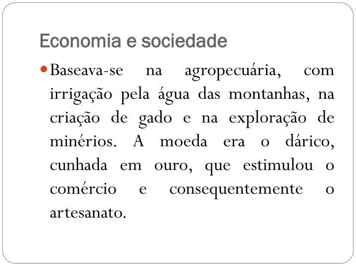 Economia e sociedade