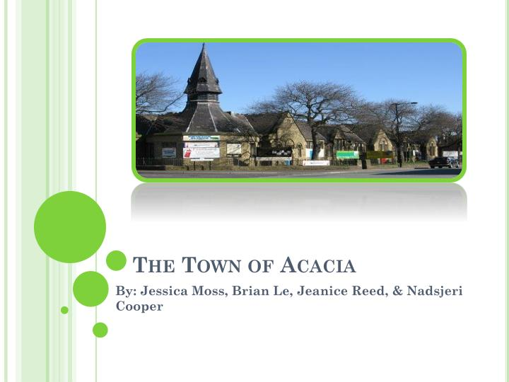 The town of acacia