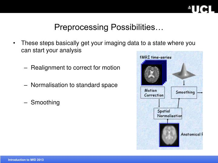 Preprocessing Possibilities…