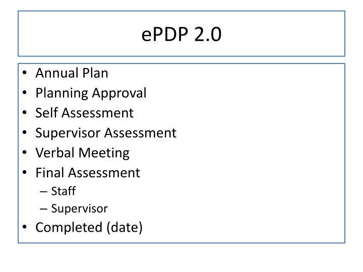 ePDP 2.0