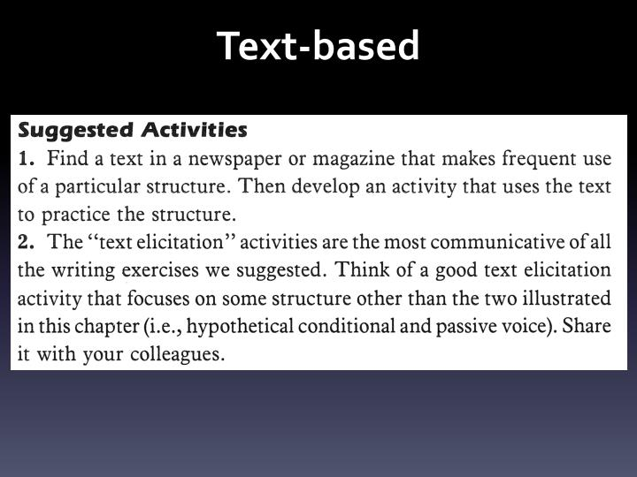 Text-based