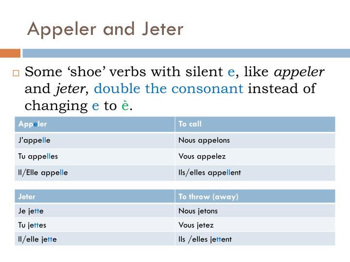 Appeler and Jeter