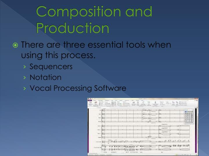 Composition and Production