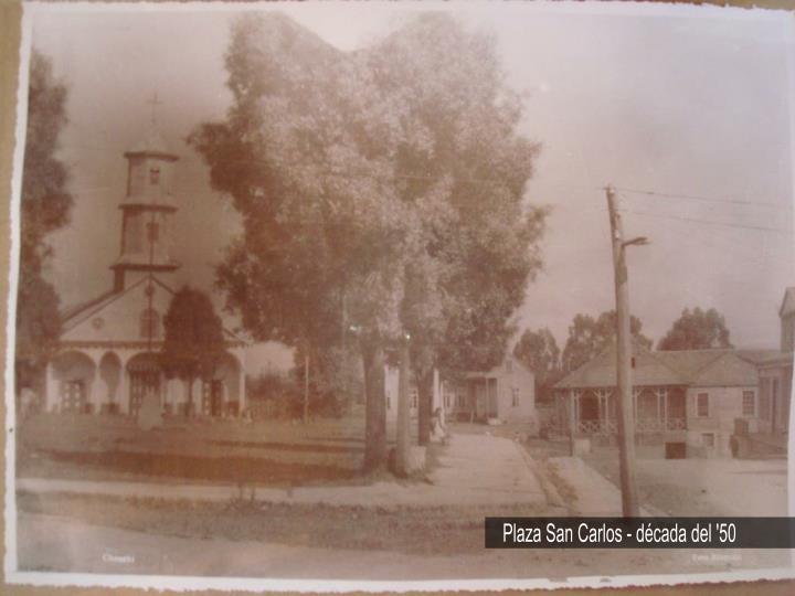 Plaza San Carlos - década del '50