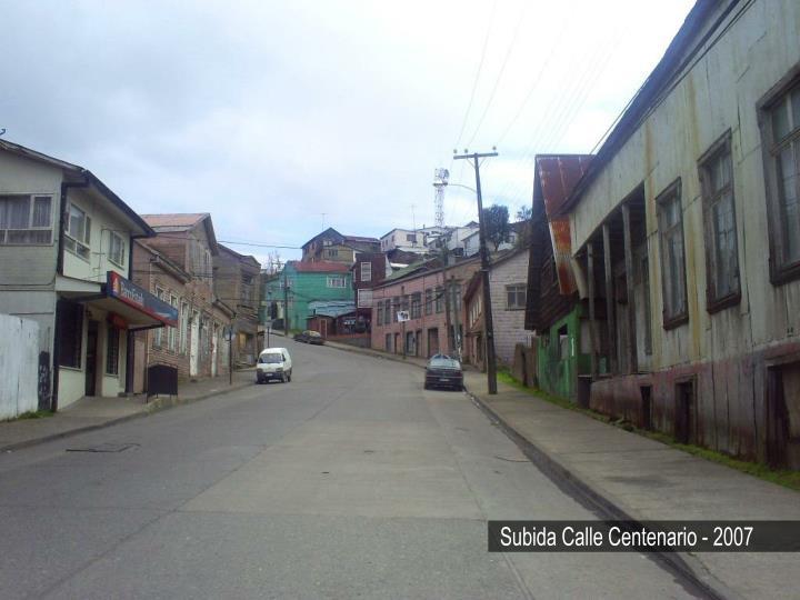 Subida Calle Centenario - 2007