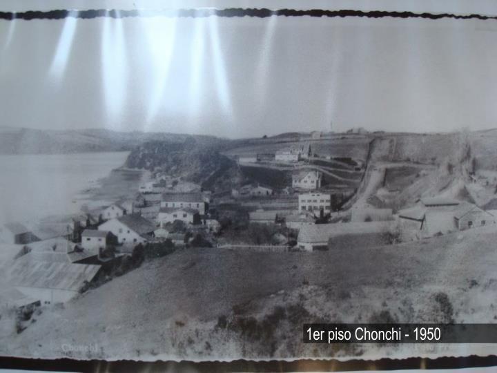 1er piso Chonchi - 1950