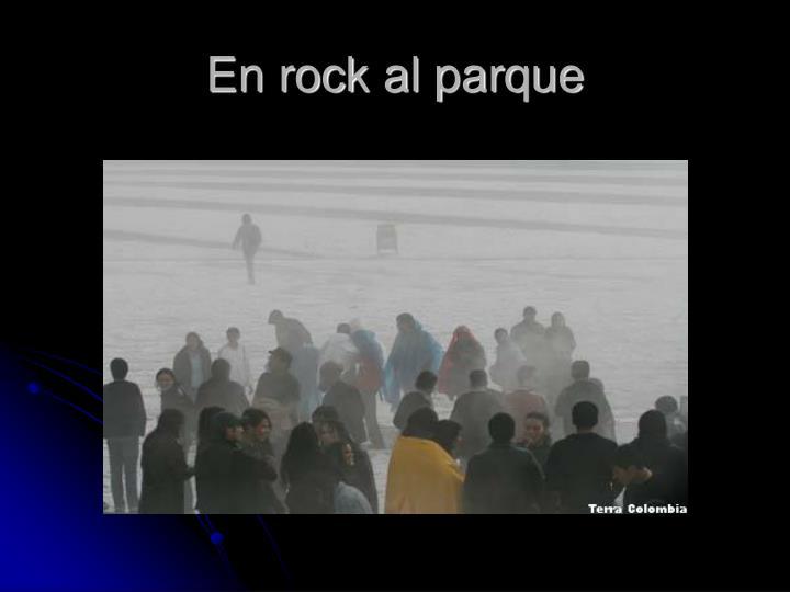 En rock al parque