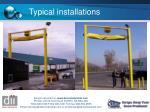 typical installations
