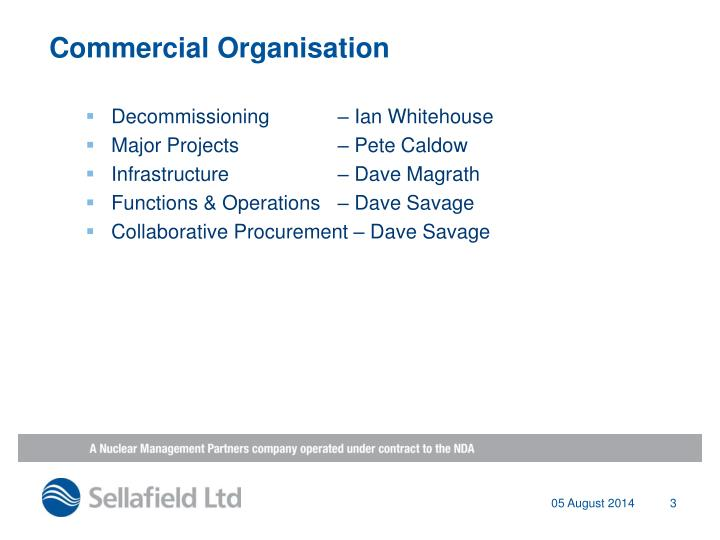 Commercial Organisation