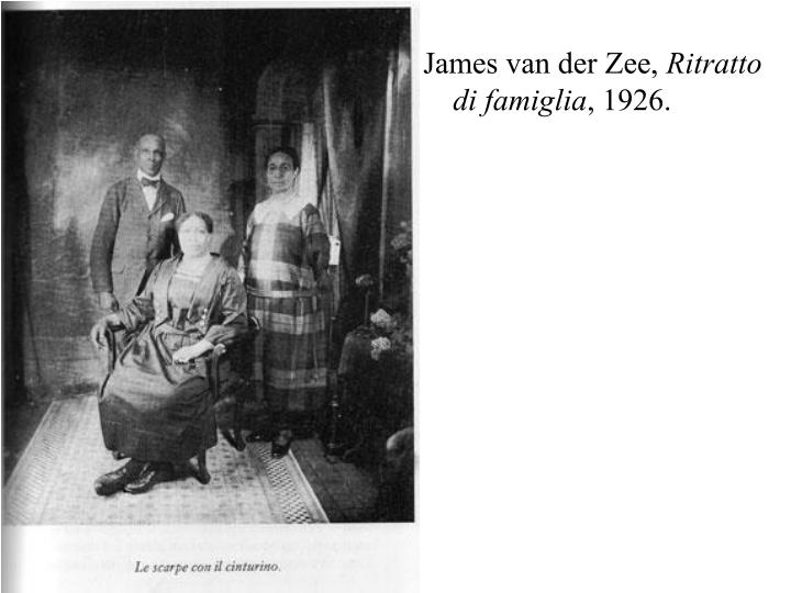 James van der Zee,