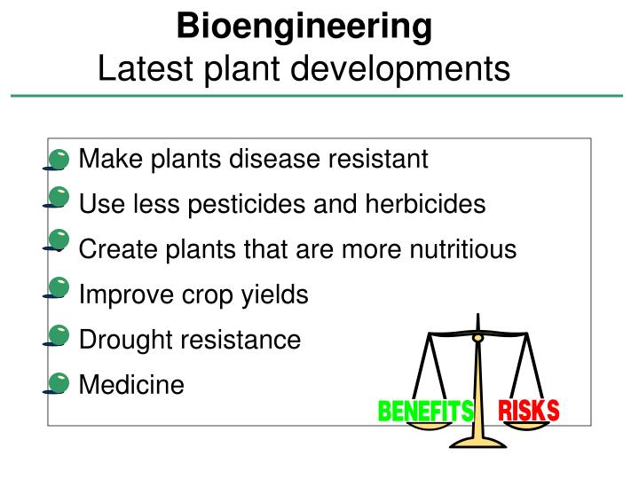 Make plants disease resistant